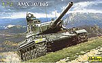 AMX 30/105 French Tank -- Plastic Model Military Vehicle Kit -- 1/72 Scale -- #79899