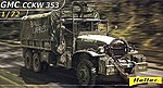 GMC CCKW 353 Military Truck -- Plastic Model Military Vehicle Kit -- 1/72 Scale -- #79996