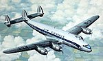 Air France L749 Constellation Civilian Airliner -- Plastic Model Airplane Kit -- 1/72 -- #80310