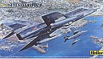 Etendard IV P Aircraft -- Plastic Model Airplane Kit -- 1/48 Scale -- #80412