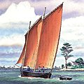 Sinagot 2-Masted -- Plastic Model Sailing Ship Kit -- 1/60 Scale -- #80605