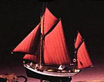 Thonier Armor -- Plastic Model Sailing Ship Kit -- 1/125 Scale -- #80609