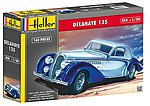 Delahaye 135 Car -- Plastic Model Car Kit -- 1/24 Scale -- #80707