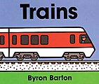 Trains Board Book, 32 Pages -- Model Railroading Book -- #240