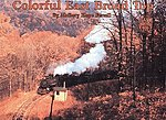 Colorful East Broad Top Softcover -- Model Railroading Book -- #31