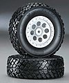 Plastic Truck Bed Tires (2)