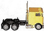 Peterbilt 362E Cabover w/Dual Rear Axles Various Colors -- HO Scale Model Railroad Vehicle -- #25246