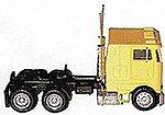 Peterbilt 362E Cabover w/Dual Rear Axles Various Colors -- HO Scale Model Railroad Vehicle -- #25246