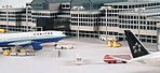 Airport Basic Set 1 -- Diecast Model Airplane Accessory -- 1/500 Scale -- #520362