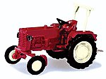 McCormick D326 Farm Tractor - Assembled - Red -- N Scale Model Railroad Vehicle -- #65993