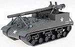 US/NATO Post-1945 M40 Gun Motor Carriage -- HO Scale Model Railroad Vehicle -- #741163