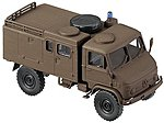 German Army (BW) Unimog S (Desert Color) -- HO Scale Model Railroad Vehicle -- #741453