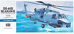 SH-60B Seahawk -- Plastic Model Helicopter Kit -- 1/72 Scale -- #00431