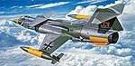 F-104G Starfighter CCV Limited Edition -- Plastic Model Airplane Kit -- 1/72 Scale -- #01987