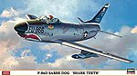 F-86D Sabre Dog Shark Teeth Limited -- Plastic Model Airplane Kit -- 1/72 Scale -- #02007