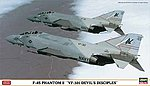 F4S Phantom II VF301 Devils Diciples Ltd Ed. -- Plastic Model Airplane Kit -- 1/72 Scale -- #02023