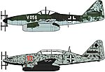 Messerschmitt Me62 Nachtjager (2) -- Plastic Model Airplane Kit -- 1/72 Scale -- #02236