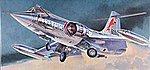 F-104C Starfighter -- Plastic Model Airplane Kit -- 1/48 Scale -- #07219