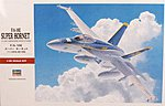 F/A-18E Super Hornet -- Plastic Model Airplane Kit -- 1/48 Scale -- #07239