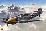 Messerschmitt Bf109E -- Plastic Model Airplane Kit -- 1/32 Scale -- #08051
