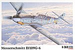 Bf109G6 Fighter -- Plastic Model Airplane Kit -- 1/32 Scale -- #08067