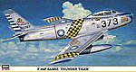 F-86F Sabre Thunder Tigers Limited Edition -- Plastic Model Airplane -- 1/48 Scale -- #09349