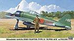 Mitsubishi A6M2b Zero Type 21 Super Ace -- Plastic Model Airplane Kit -- 1/48 Scale -- #09904