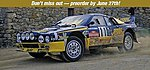 Lancia 037 Rally Grifone -- Plastic Model Car Kit -- 1/24 Scale -- #20277