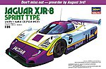 Jaguar XJR-8 Sprint Type -- Plastic Model Car Kit -- 1/24 Scale -- #20281