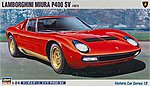 Lamborghini Miura Sv -- Plastic Model Car Kit -- 1/24 Scale -- #21213