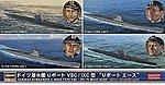 German Sub U-Boat Aces Limited -- Plastic Model Submarine Kit -- 1/700 Scale -- #30034