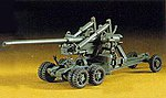 M2 155mm Gun Long Tom -- Plastic Model Military Artillery Kit -- 1/72 Scale -- #31102