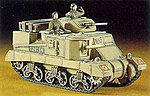 M3 Grant Mk.1 Medium Tank -- Plastic Model Tank Kit -- 1/72 Scale -- #31105