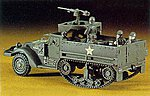 M3A1 Half Track w/5 Figures -- Plastic Model Halftrack Kit -- 1/72 Scale -- #31106