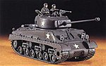 M4 (A3E8) Sherman -- Plastic Model Tank Kit -- 1/72 Scale -- #31115