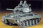M24 Chaffee Light Tank -- Plastic Model Tank Kit -- 1/72 Scale -- #31119