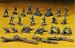 U.S. Infantry Combat Team -- Plastic Model Military Figure -- 1/72 Scale -- #31129