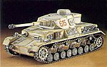 Pz.Kpfw IV Ausf.G -- Plastic Model Tank Kit -- 1/72 Scale -- #31143