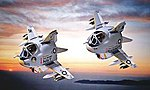 Egg Plane A-6 Intruder -- Plastic Model Airplane Kit -- #60130