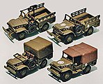 Dodge Truck WC51/WC52 2/ - HO-Scale (2)
