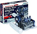 Visible Working Porsche 911 Flat-Six Boxer Engine w/Electric Motor & Sound (1/4 Scale)