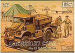 Chevrolet C15A Cab 11 Water Truck -- Plastic Model Military Vehicle Kit -- 1/72 Scale -- #72016
