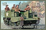 Universal Carrier II Mk II -- Plastic Model Personnel Carrier Kit -- 1/72 Scale -- #72024