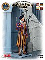 Vatican Swiss Guard (New Tool) -- Plastic Model Military Figure Kit -- 1/16 Scale -- #16002