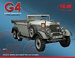 Type G4 1935 Production German Personnel Car -- Plastic Model Military Staff Car -- 1/24 -- #24011