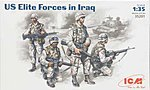 US Elite Forces Iraq (4) -- Plastic Model Military Figure -- 1/35 Scale -- #35201