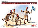 Eritrean Battalions of the Italian Colonial Army -- Plastic Model Military Figure -- 1/35 -- #35567