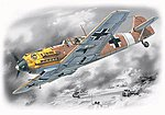 WWII Messerschmitt Bf109E7/Trop Fighter -- Plastic Model Airplane Kit -- 1/72 Scale -- #72133