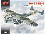 WWII Do215B4 German Long-Range Photo-Recon Aircraft -- Plastic Model Airplane Kit -- 1/72 -- #72301