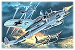 WWII Dornier Do215B5 German Night Fighter -- Plastic Model Airplane Kit -- 1/72 Scale -- #72302